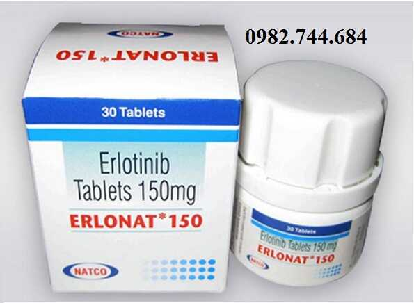 Giá thuốc Erlotinib Erlonat 150mg