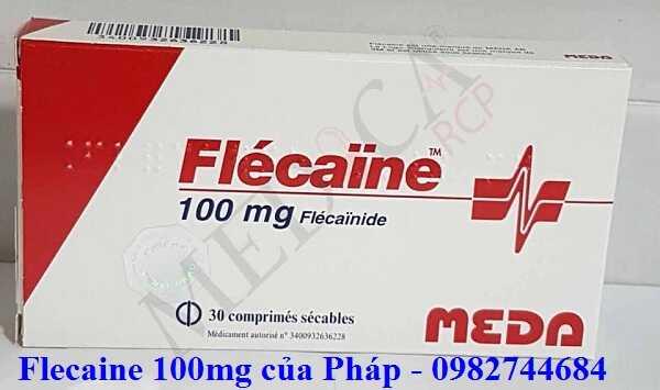 Thuốc Flecaine 100mg meda của Pháp