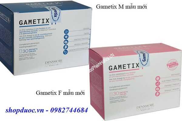 Cặp Gametix F và Gametix M