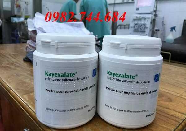 Thuốc kayexalate điều trị tăng kali máu