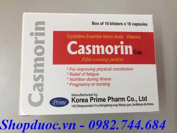Tác dụng của thuốc casmorin