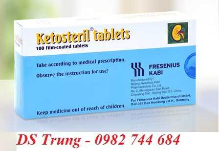 Cách sử dụng thuốc Ketosteril 600mg