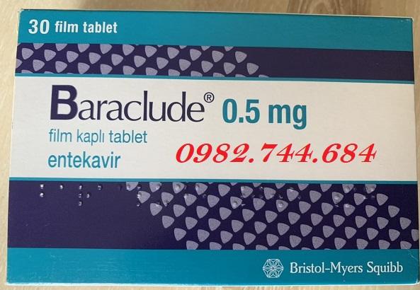 Tác dụng của thuốc baraclude 0.5 mg