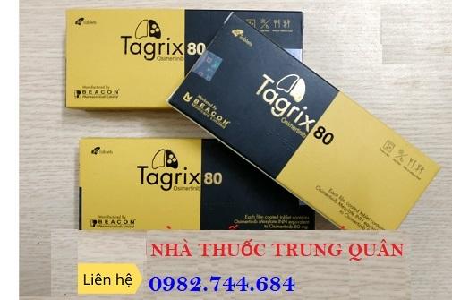 Tác dụng của thuốc Tagrix 80mg