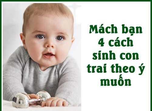 Cách sinh con trai theo khoa học dựa vào ngày rụng trứng