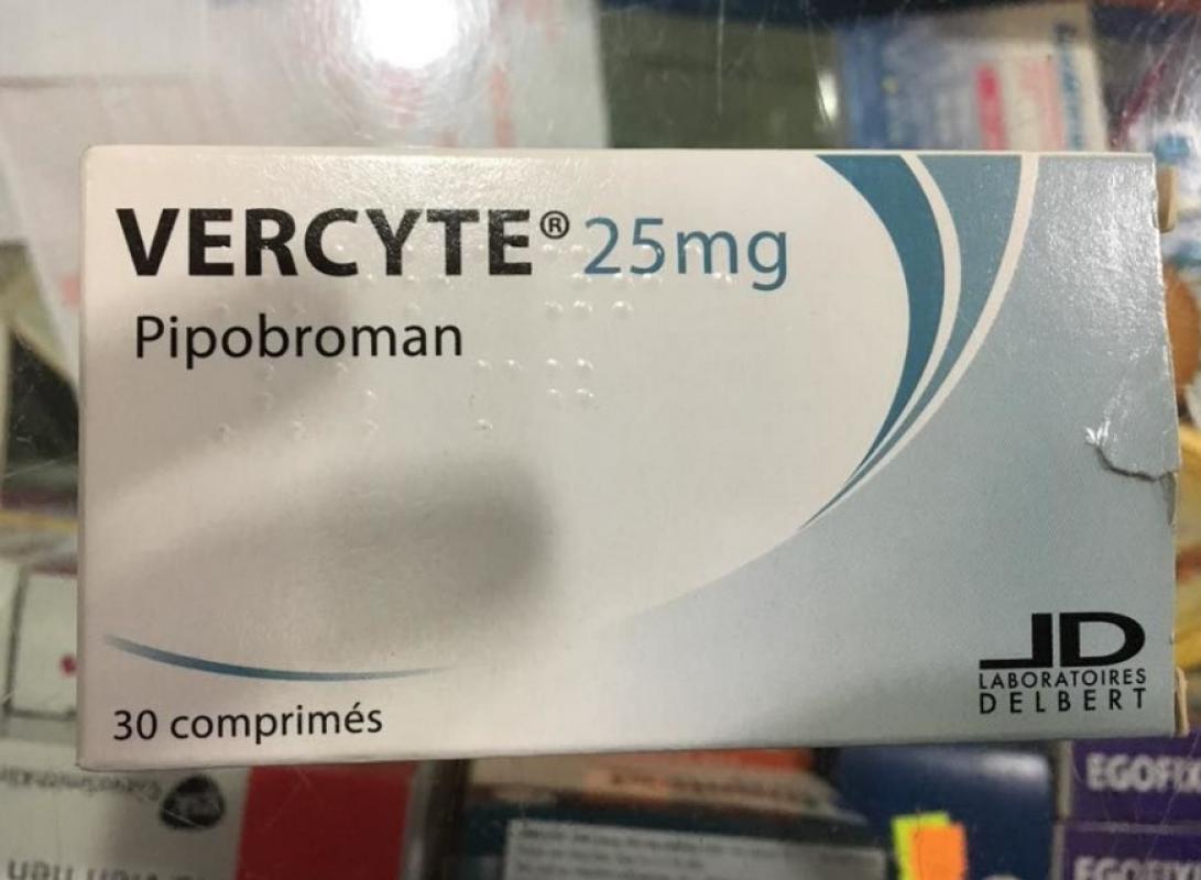 Thuốc Vercyte 25mg điều trị đa hồng cầu