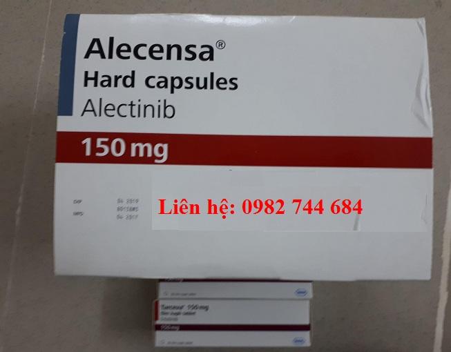 Thuốc Alecensa 150mg điều trị ung thư phổi