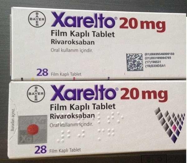 Thuốc Xarelto 15mg & 20mg chống đột quỵ