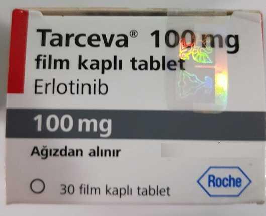 Thuốc Tarceva 150mg điều trị ung thư phổi
