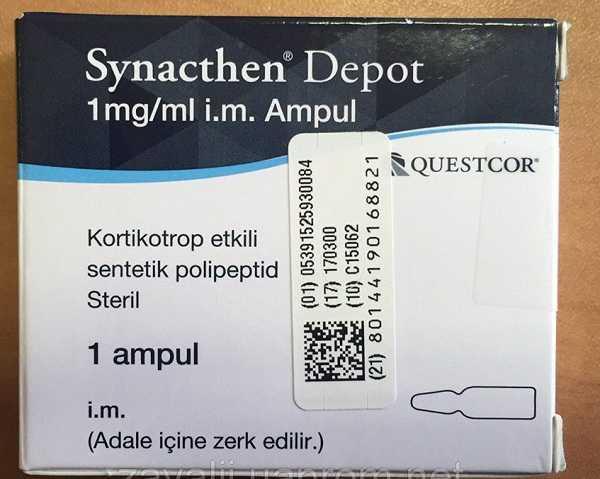 Thuốc Synacthen 1mg/ml