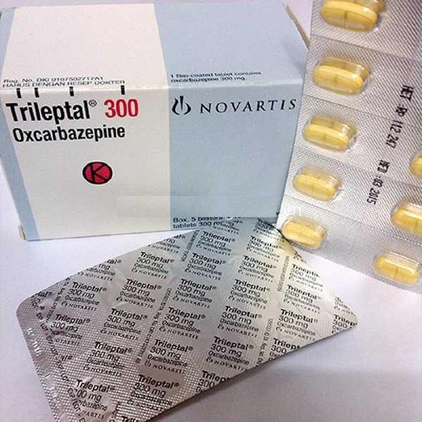 Thuốc động kinh Trileptal 300 mg