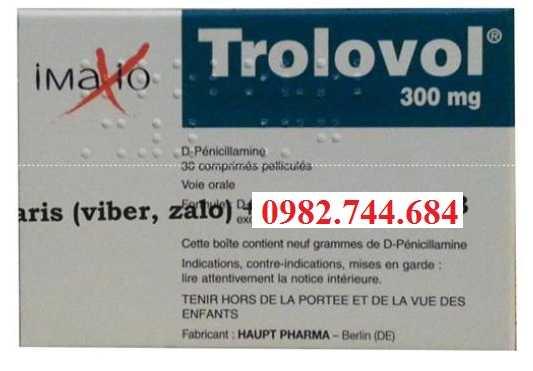 Thuốc Trolovol 300mg điều trị bệnh viêm khớp