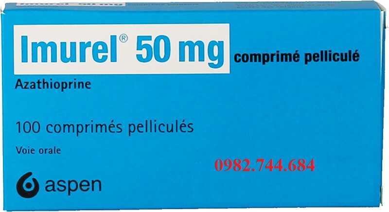 Thuốc ức chế miễn dịch Imurel 50mg