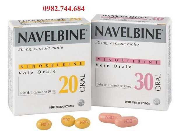 Thuốc ung thư Navelbine 20mg, 30mg