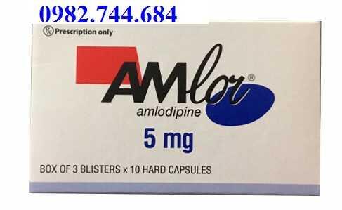Thuốc Amlor 5mg điều trị tăng huyết áp của Pháp