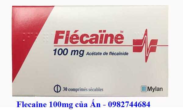 Thuốc Flecaine 100mg (Flecainide) chống loạn nhịp