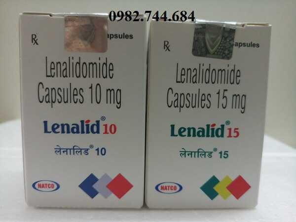 Thuốc Lenalid 10mg, 15mg điều trị bệnh bạch cầu