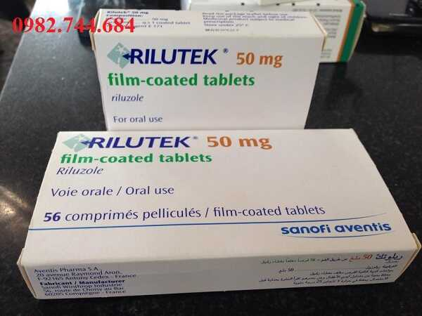 Thuốc Rilutek 50mg điều trị bệnh xơ cứng cột bên teo cơ