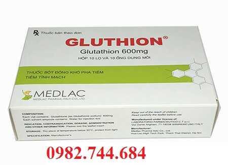 Thuốc Gluthion 600 mg bột pha tiêm