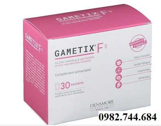 Thuốc Gametix f điều trị vô sinh, hiếm muộn ở phụ nữ