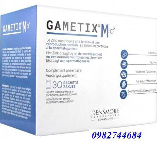Thuốc gametix M tăng chất lượng tinh trùng