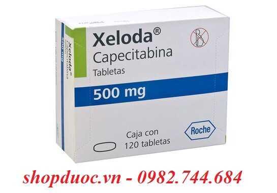 Thuốc Xeloda 500mg điều trị ung thư trực tràng, vú