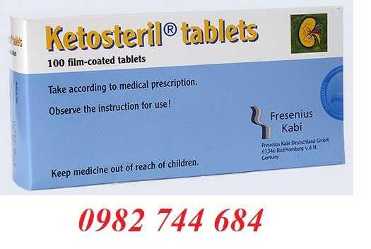 Thuốc đạm thận Ketosteril 600mg 100 viên của Đức