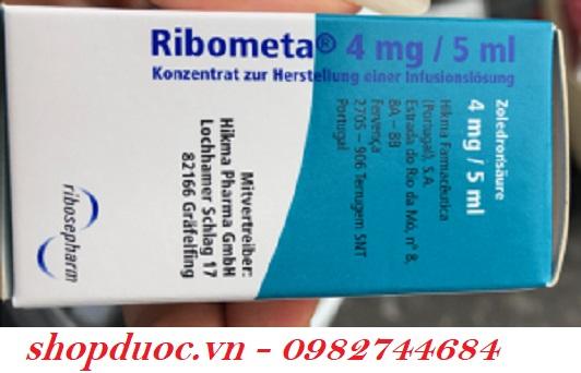 Thuốc Ribometa 4mg/5ml điều trị các bệnh xương khớp