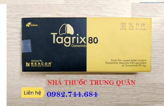 Thuốc Tagrix 80mg điều trị ung thư phổi